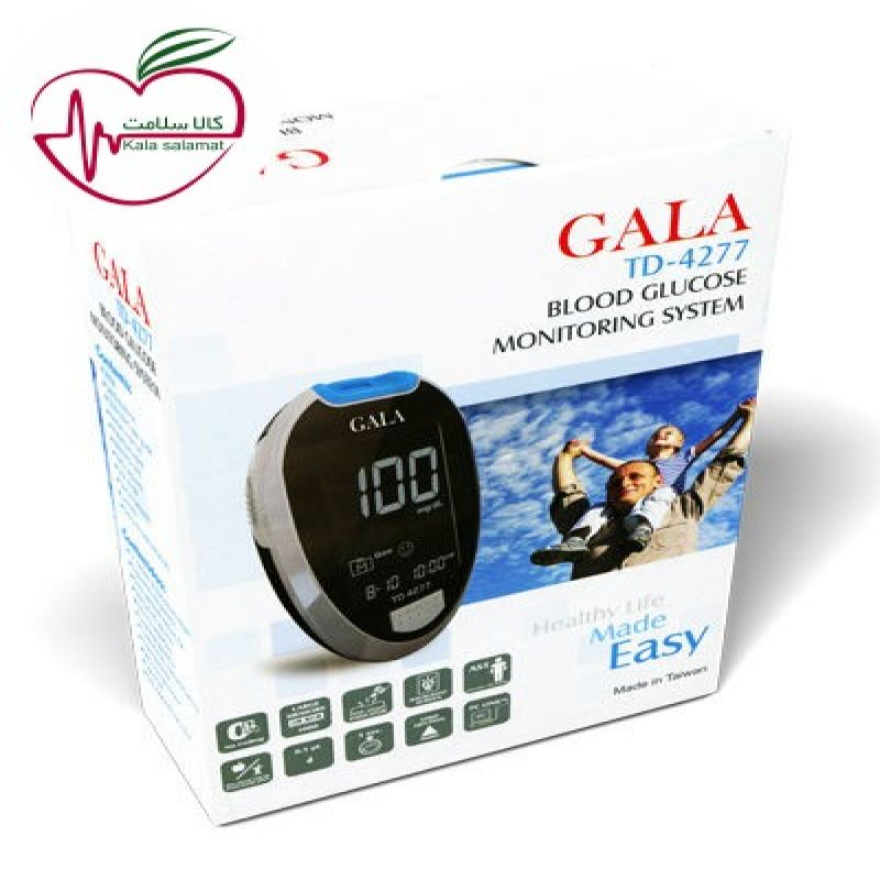 دستگاه کنترل قند خون گالا TD-4277