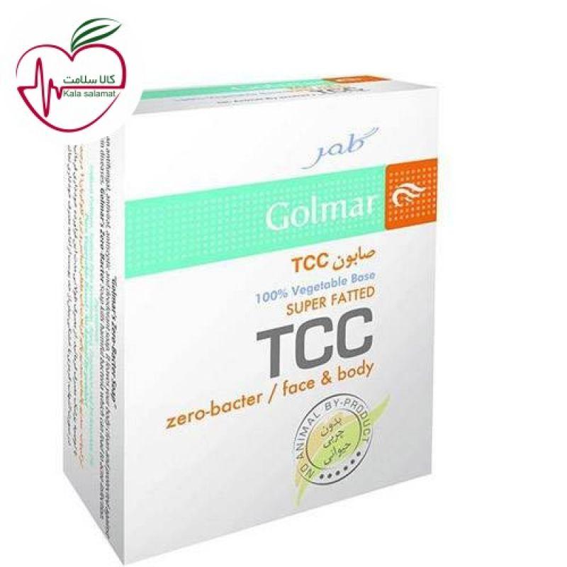 صابون TCC گلمر مناسب پوست های چرب 100gr